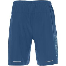 asics 2-N-1 7in Spodnie krótkie Mężczyźni, deep sapphire/island blue